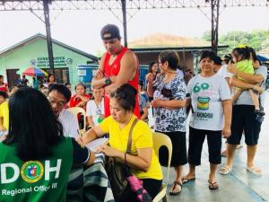 Distribution of Doxycycline Medicines (Anti Leptospirosis) in Barangay Matain,Asinan proper ,Calapandayan ,Wawandue,and Manganvaca.