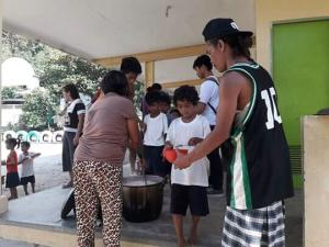 FEEDING MISSION @ SAPANG BATO ELEMENTARY SCHOOL