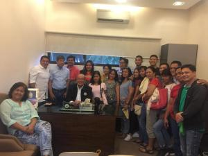 House of Representative with SB and SK of Brgy Sto. Tomas
