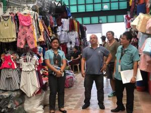 INSPECTION OF OUR ENGINEERING OFFICIAL SUBIC PUBLIC MARKET