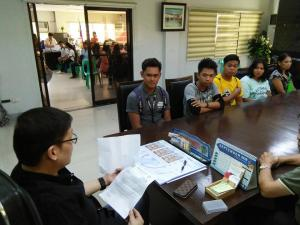 MEETING WITH SIR SAGUN, ME. DELOS SANTOS & KNS KOLEHIYO NG SUBIC SA(STUDENT ASSOCIATION) ASPIRANTS (SEPT. 26,2018)