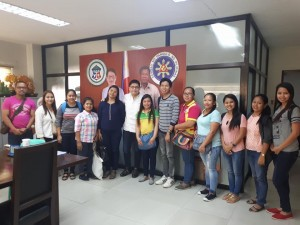 Mayor Jay Khonghun's Visitors last January 19, 2018