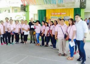 Oath Taking PTCA Subic Central School with Bm Jon Khonghun and Mayor Jay Khonghun
