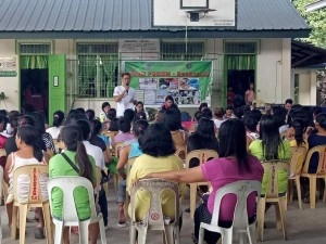 Open Forum and Public Information Drive on Dengvaxia in Barangay Calapacuan Elem School