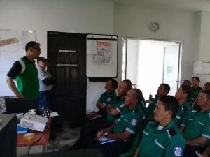 Basic Law Enforcement Training of Traffic Management Bureau (TMB) personnel Day 1