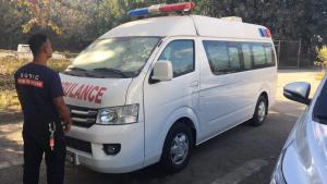Brand New Ambulance for our Subic Rescue Sposo