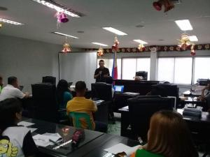 Training / Workshop on Barangay Disaster Risk Reduction Management Plan 2019