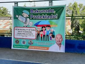 Comeback to Bakuna Provincial Launching was held this Morning at Sitio Nagyantok, Cawag Subic