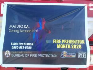 Fire Prevention Month 2020 Motorcade