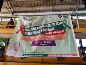 HIV/AIDS Awareness and Mental Health Awareness Campaign
