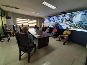 Meeting with Our Subic Public Market Officials regarding Our Mandatory Curfew