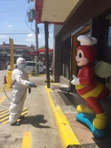 Sanitation and Disinfection Commercial Establishments, Supermarkets, Grocery stores, Drugstores, Banks, Gasoline Stations and all Entrances of most Visited Establishments sa Bayan ng Subic