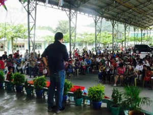 Christmas Party and Gift Giving with The Persons with Disability..Project of Mayor Jay Khonghun