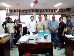 Distribution of Complete Barangay Health Center Equipment in Subic