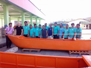 Distribution of Fishing boat to Deserving Fishermen of Subic