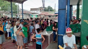 Gift Packs Giving @ Barangay Wawandue