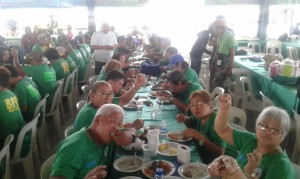 Olongapo Barangay Officials Christmas Get Together Party 2017