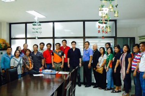 Welcome to Subic,Officials of the Provincial Government Of Ifugao